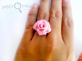 Pink Rose Ring by margemagtoto