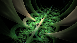 Green Abstract RE by AliDraw