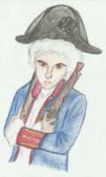 Ian as George Washington by fictionaloutcomes
