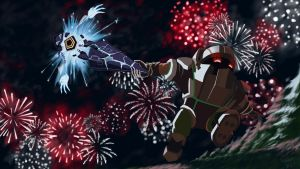 Nautilus and His Sparkler by ciderWrath