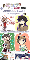 MEME Doble -Con BananaProduction- by NathyLove5