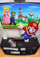Mario World by Yotatouch