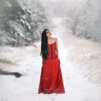lady in red IV by intels
