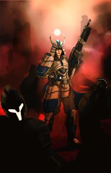 PlanetSide2 : Kelpitorgh, the french samurai by Excalle