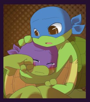 TMNT: Don't cry by NamiAngel