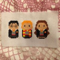 Harry, Ron and Hermione by GloriousKiwi