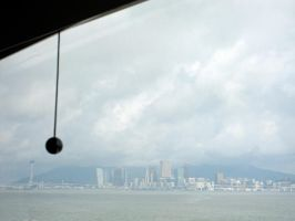 Macau from the ferry by dpt56