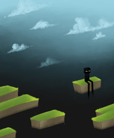 The Lonely Enderman by Esomnus