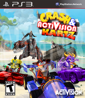 (Fake Boxart) Crash and Activision Kartz by Jake1998
