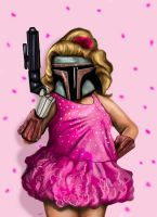 Honey Boo Boo Fett by HeroforPain
