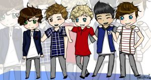 Hi, We're One Direction! by 134Love134