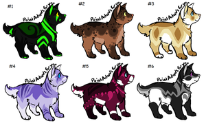 Canine Adopts 2/6 Open by Imperial-Viciousness