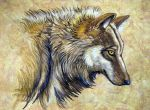 Wolf Natural Beauty by HouseofChabrier