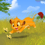 Chibi Simba by StePandy