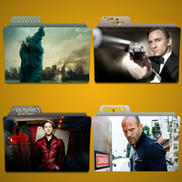 C Movie Folder Icon Pack by Kliesen