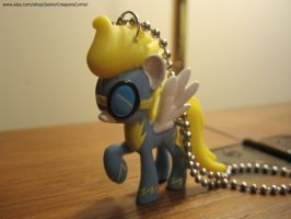 My Little Pony FIM Wonderbolts Necklace by colbyjackchz