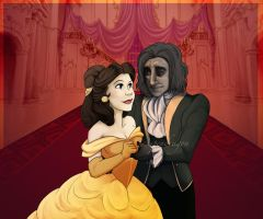 Beauty and the Beast by Aspendragon