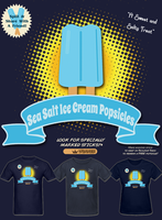 KH Sea Salt Ice Cream Popsicles T Shirt by Enlightenup23
