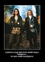 Louis and Lestat are not amused at Twilight by zitv88