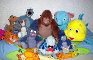 Disney Plush Collection 2012 *Update* by kratosisy