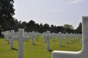 Colleville Cemetery 12 by Cpl-Highway