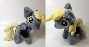My Little Pony - Derpy Hooves custom plush by Kitamon