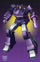 G-1 Shockwave with grid by Dan-the-artguy