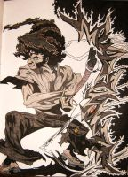 "M-1R""AFRO SAMURAI by GRAFFITIISMYWEAPON"