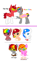 MLP BREEDABLE FOR ~SalkiNeoDucky by FrankinPoodle