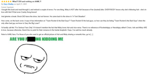 Shippers can be SO Stupid by mrmenworld2010