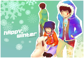 Team 8: Happy Winter by sonteen12