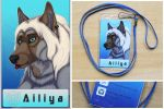 Commission: Ailiya -badge by SaQe