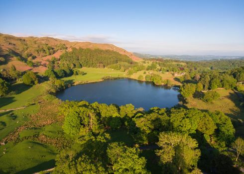 Loughrigg Tarn by scotto