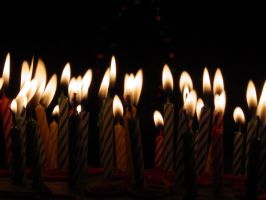 Birthday Candles by Treeclimber-Stock