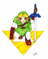 Hero of the Triforce by FREAKY-female