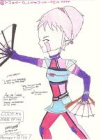 My version of Aelita by yumithespotter