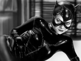 Catwoman by Prischool