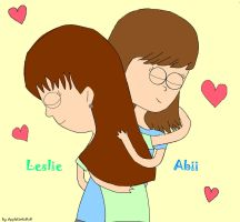 Abii and me We Hugged in RS by AppleLittleDoll