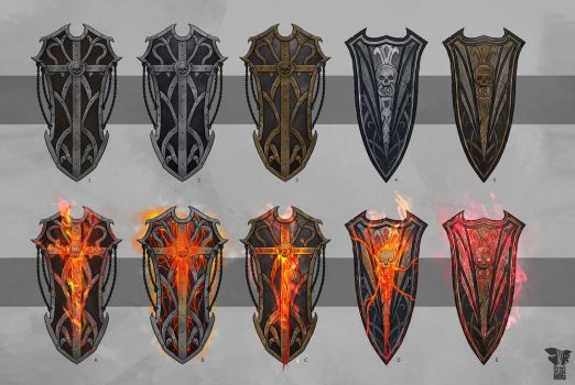 Shields concept art by Pumax001