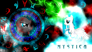 Mystica OC Wallpaper by Arakareeis