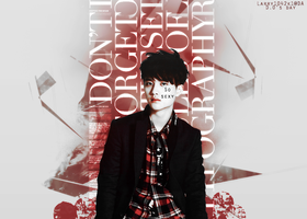 { (12012014) Graphic #6 } Kyung Soo (EXO) by Larry1042k1