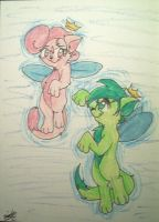 Cosmo and Wanda Cats by goldfish078