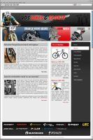 Website bicycle and race parts by D72