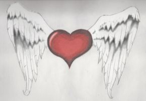 Winged Heart2 by MP-DA
