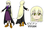 Budo-Kid - Vivian Character Sheet by Zero-Q