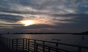 Sunset at Jetty Park, Fl 2 by DeadlyRadioActive