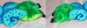 Foo dog tail by ArtSlavefursuits