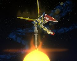 Gundam Wing Shooting by maverick8