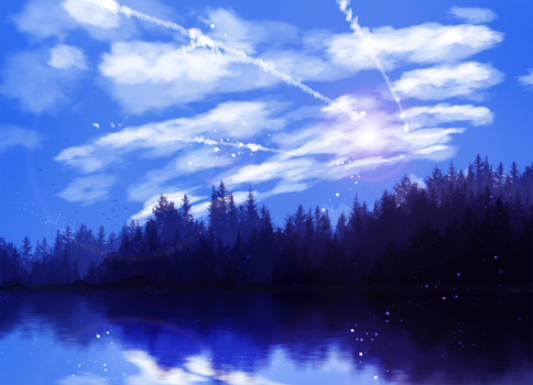 The Lake by ryky