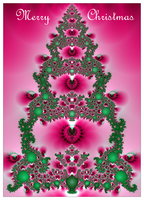 Fractal Christmas Card by TomWilcox